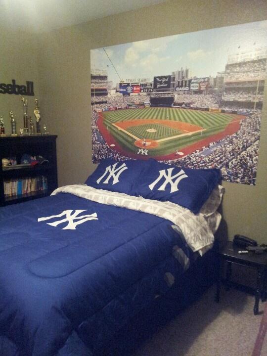 Yankees Bedroom For Dawson