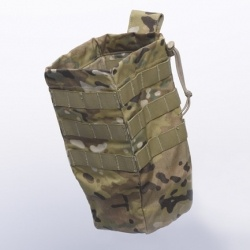 High Ground Gear - Tactical Reloader Dump Pouch -- I really like the simplicity of the square design.