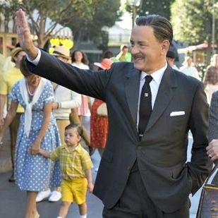 First Image Of Tom Hanks As Walt Disney. I agree why don't they just thaw out Walt?