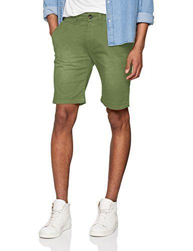 oodji Ultra Hombre Pantalones Cortos de Punto con Cordones AiVQs