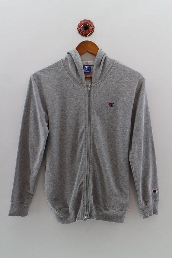 CHAMPION Zipper Hoodies Sweater Small Unisex Champion Authentic American  Jumper Champion Usa Sweatshirt Unisex Size S   Sweatshirt   Pinterest    Unisex, ... c4d5441fcc5b
