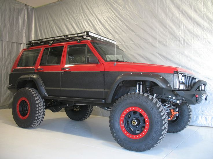 Custom Built Jeep Cherokee Spray Lining