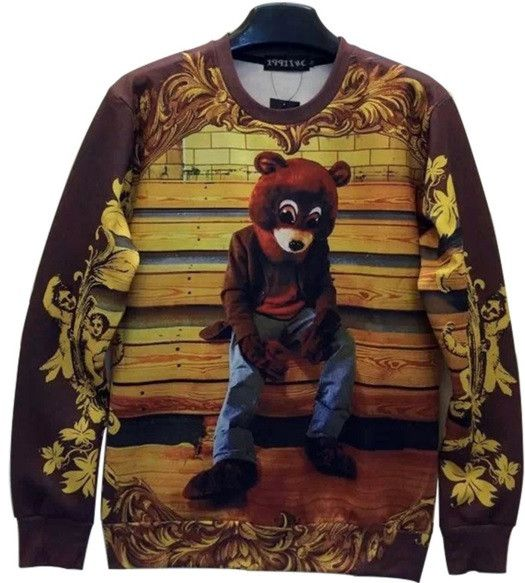 Kanye West College Dropout Bear