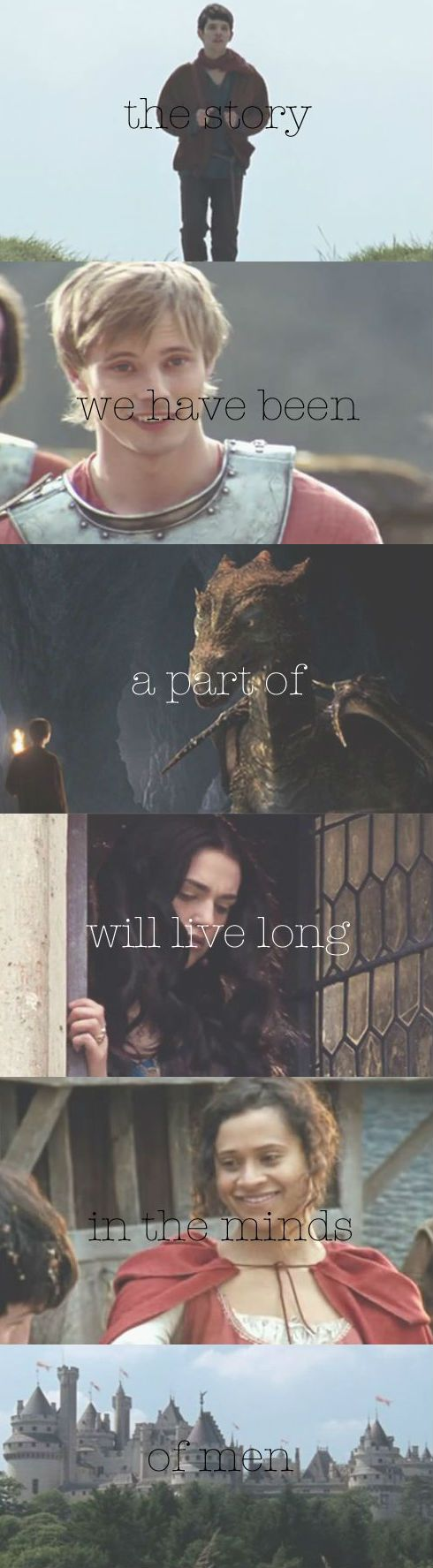 Take heart, young Warlock. For when Albion's need is greatest, Arthur will rise again. I LOVE THIS!!!