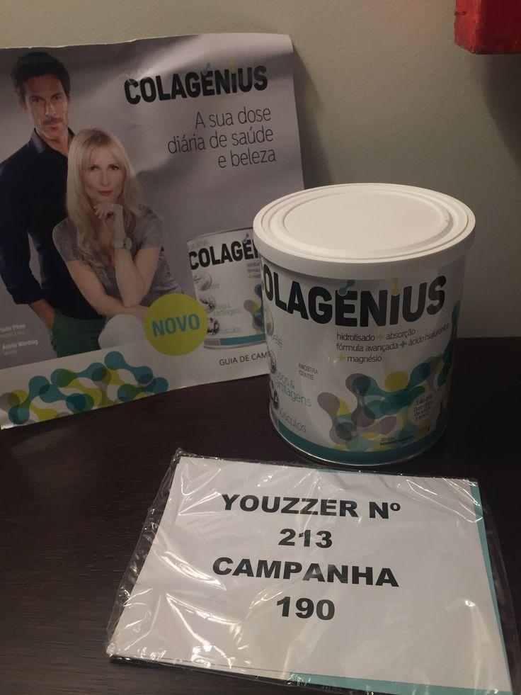 Vou experimentar, depois divulgo alguem me acompanha?   #colagenius, #youzzcolagenius  #youzz