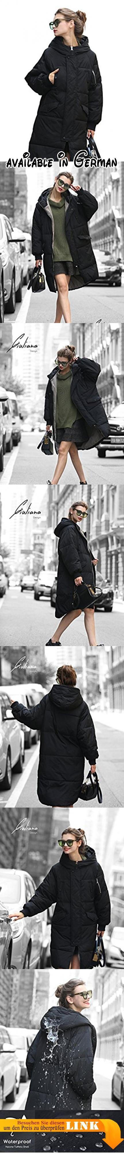 Jacke Damen Mantel Damen Steppmantel Damen Schwarz Lang Mantel Damen Wintermantel Damenwintermantel Damenmatel Steppjacke Damenjacke Daunenparka Ubergang Gesteppter Damen WasserdichtWindbrecher M. 🍁 [ Neuer Windschutz & Fleckenschutz] - Diser Mantel ist aus importiertem Polyester-Taft-Stoff aus Korea gefertigt und ist im Vergleich zu anderen traditionellen Daunenjacken etwas steifer. Gleichzeitig ist es haltbarer hat diese schmutzabweisenden- und Windschutzzeichen,