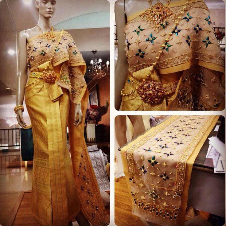Thai dress wedding