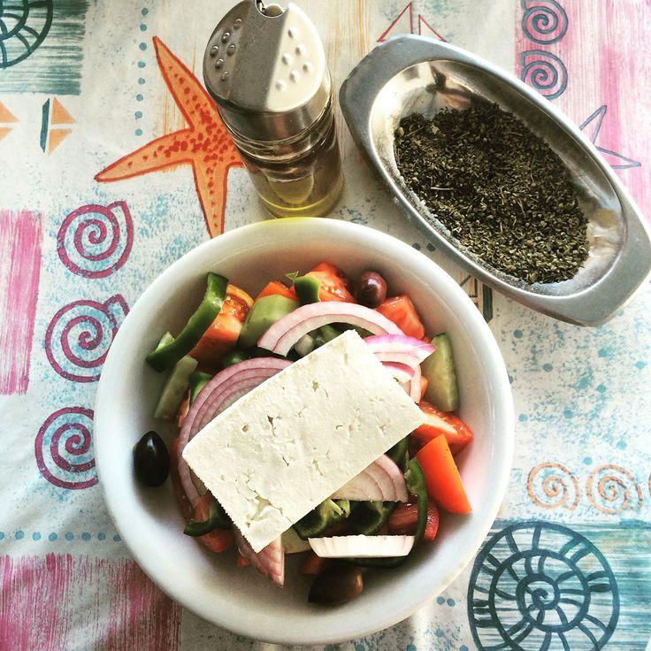 Greek salad!!!