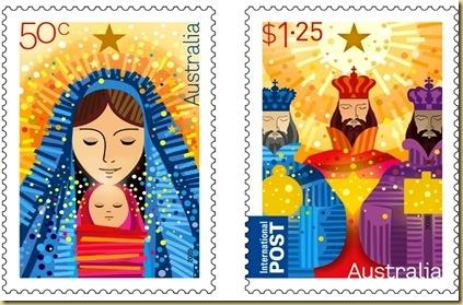 Australia 2009 Christmas stamps