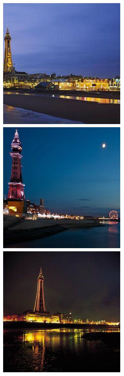 Переоснащение Blackpool Tower светодиодами: двухлетняя годовщина