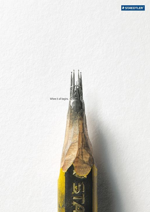 Staedtler pencil art