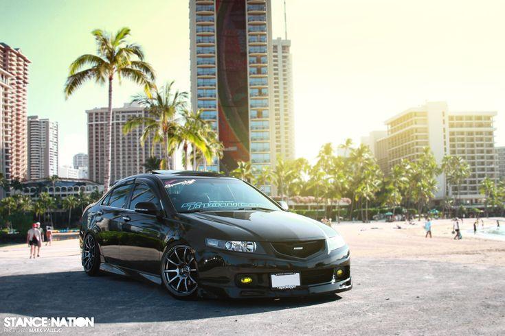 Acura TSX Slammed