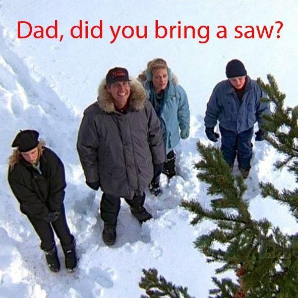 """""""Dad, did you bring a saw?"""" ~ Rusty"""