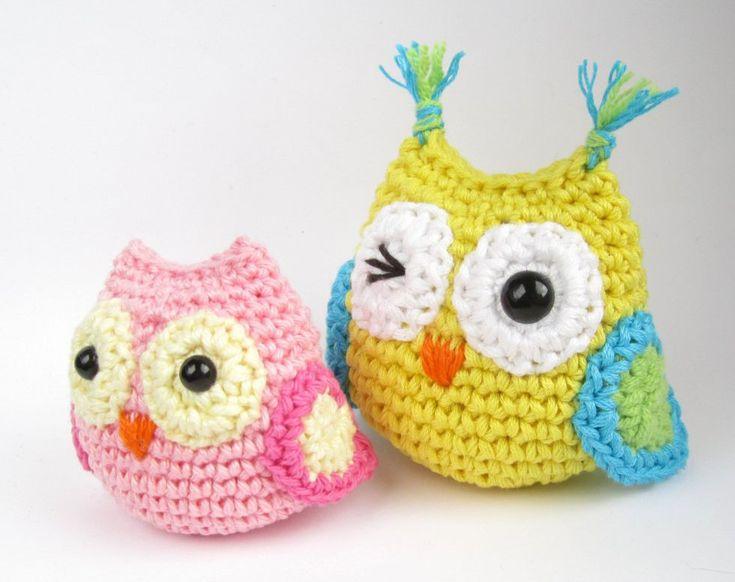 Free crochet pattern: Small amigurumi owls // Kristi Tullus (sidrun.spire.ee)