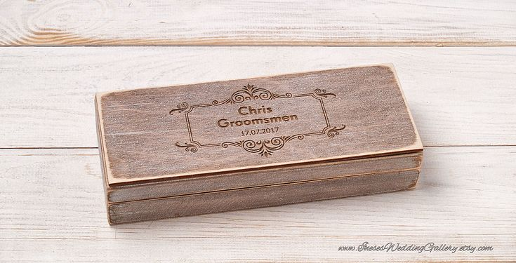 Groomsmen Gift Box Personalized Cigar Box Will You be My Groomsman Custom Cigar Box Best Man Gift Groomsman Cigar Gift Box Wedding Gift Box by InesesWeddingGallery on Etsy