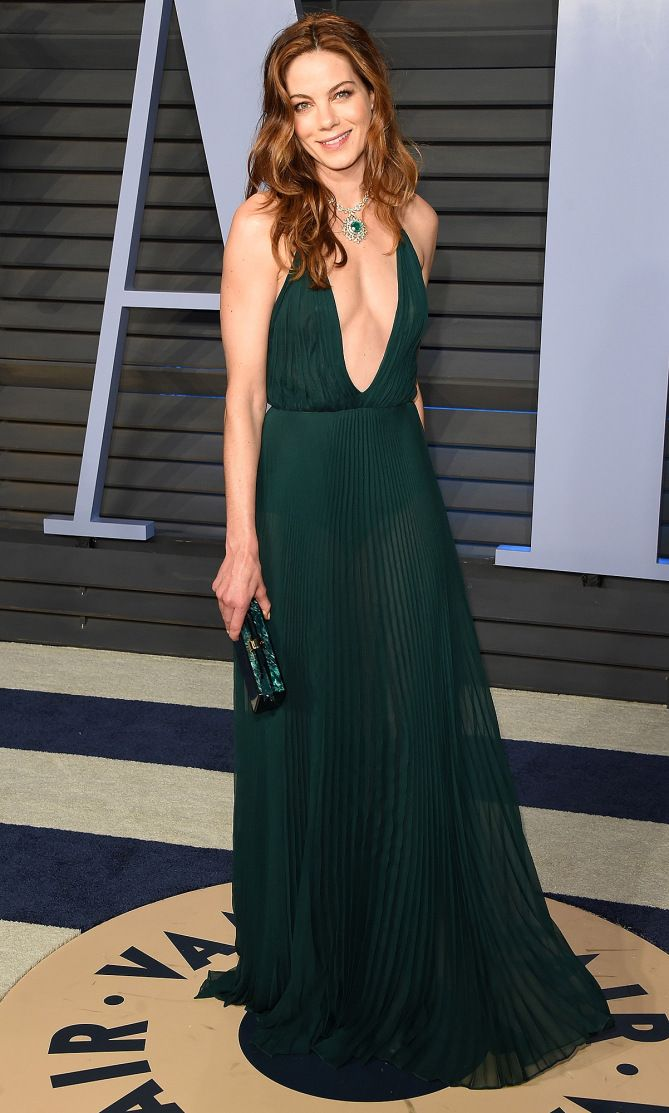 Michelle Monaghan in Michael Kors Collection at the Vanity Fair 2018 Oscars afterparty