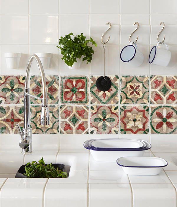Vintage Italian Tile Decals Tile Stickers Italian
