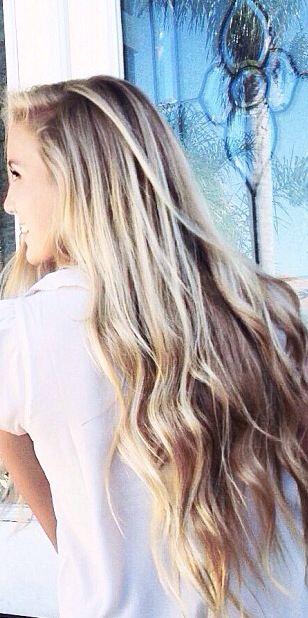 highlights. I just love this hair length. My goal