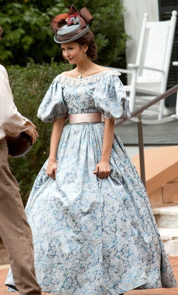 From Vampire Diaries, gorgeous Civil War inspired dress