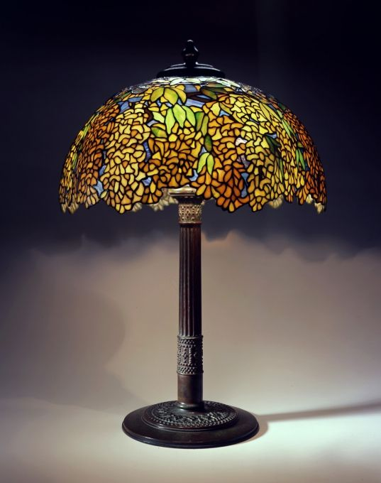 Library lamp c 1910