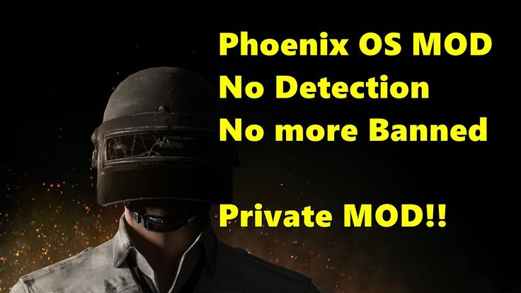 Phoenix OS PRIVATE MOD bypass emulator detection pubg mobile