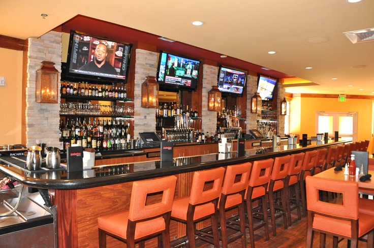 Sports bar for the holiday inn sporting news grill in san