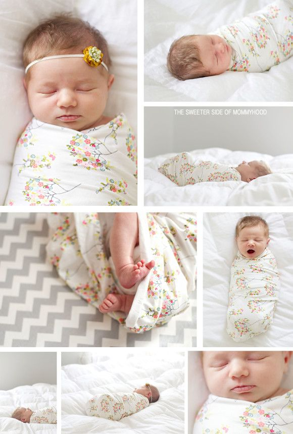 10 Things Your Newborn Photographer Wants You To Know. //  Newborn pullbacks are my favorite!