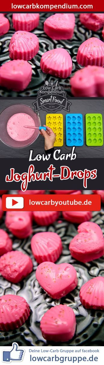 Joghurt Drops Low-Carb ?? Süße Drops zum Naschen