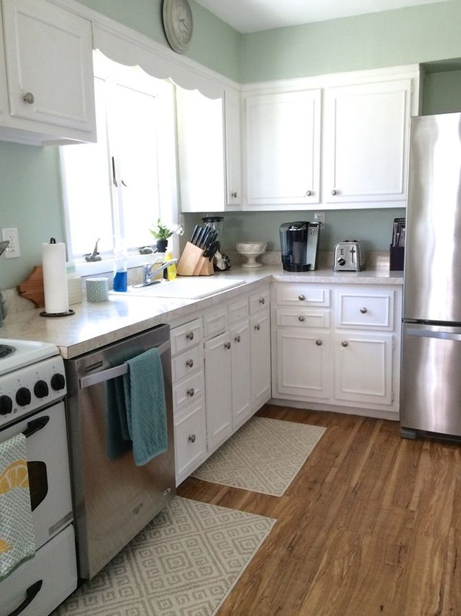 original 1950 39 s cabinets and all read about how we gave our kitchen a