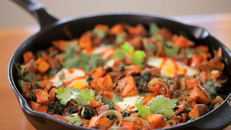 Liesl's Sweet Potato & Kale Hash (+playlist)