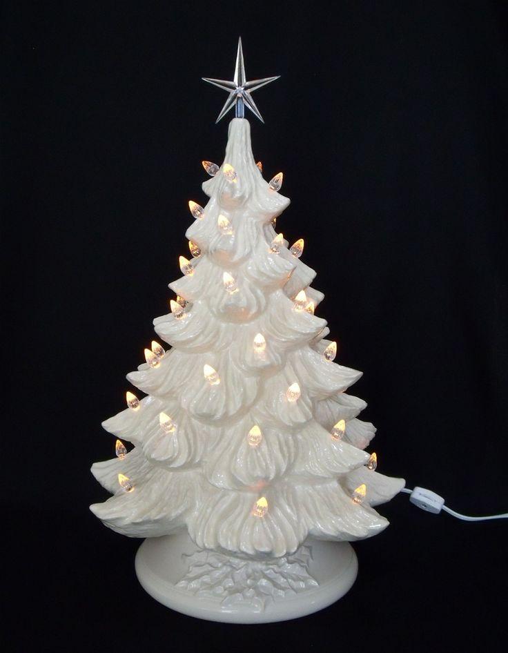 best 25 ceramic christmas trees ideas on pinterest ceramic christmas decorations midcentury. Black Bedroom Furniture Sets. Home Design Ideas