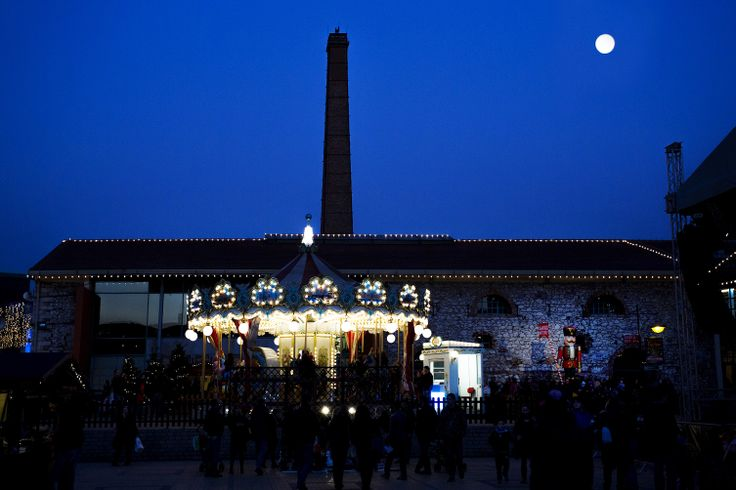 VISIT GREECE  The Christmas Factory  #Athens #Technopolis #visitgreece #christmas