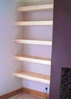 Carpentry And Woodworking Plans And Projects Alcove