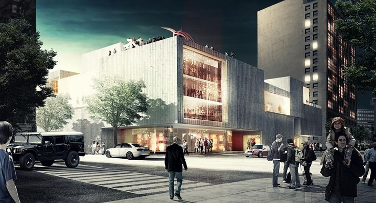 architecture exterior perspective render _ LOUISVILLE ...