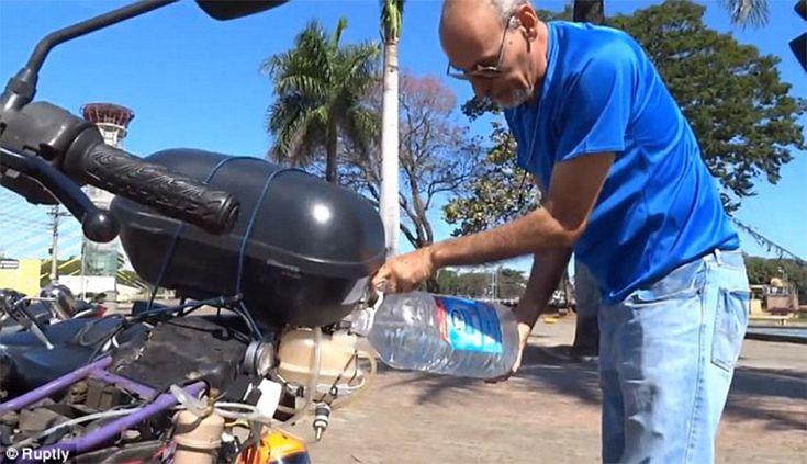 Itt a vízzel működő motor! 1 liter = 500 km!