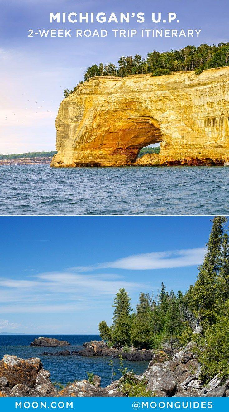 Road Trip Michigan S Upper Peninsula In 2 Weeks Michigan Road Trip Michigan Vacations Michigan Travel