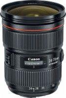 Canon - EF 24-70mm f/2.8L II USM Standard Zoom Lens - Black - Larger Front