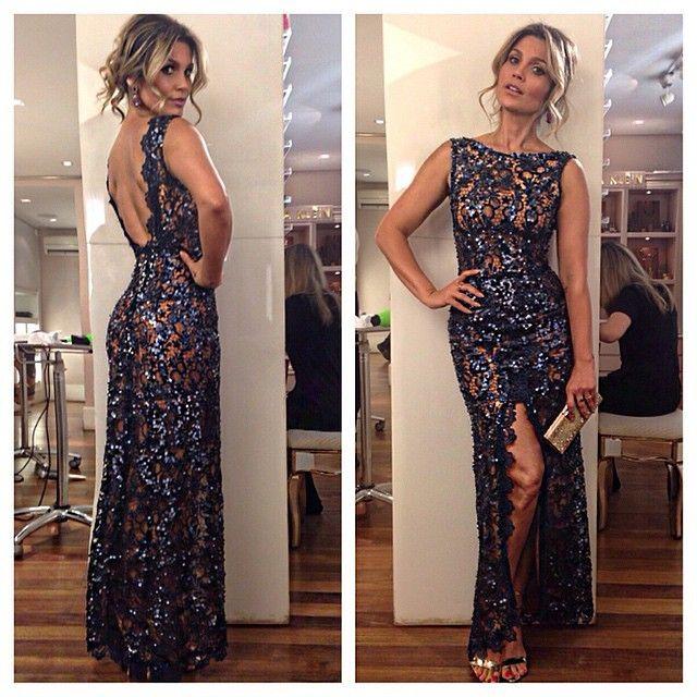 Look de Flavia Alessandra para o casamento de Bruno Astuto (Foto: Reprodução / Instagram)