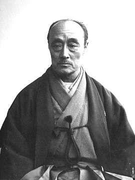 Tokugawa Yoshinobu(1837-1913), 15th and last Tokugawa shogun, in his later years.