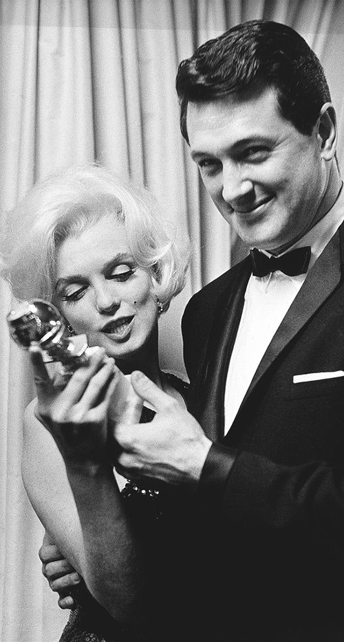 55 Years Ago: Marilyn won her third Golden Globes Award as Female World Film Favorite in March . — 1962