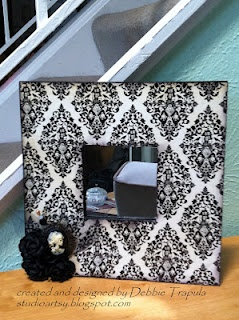 Halloween altered Frame from Ikea :)