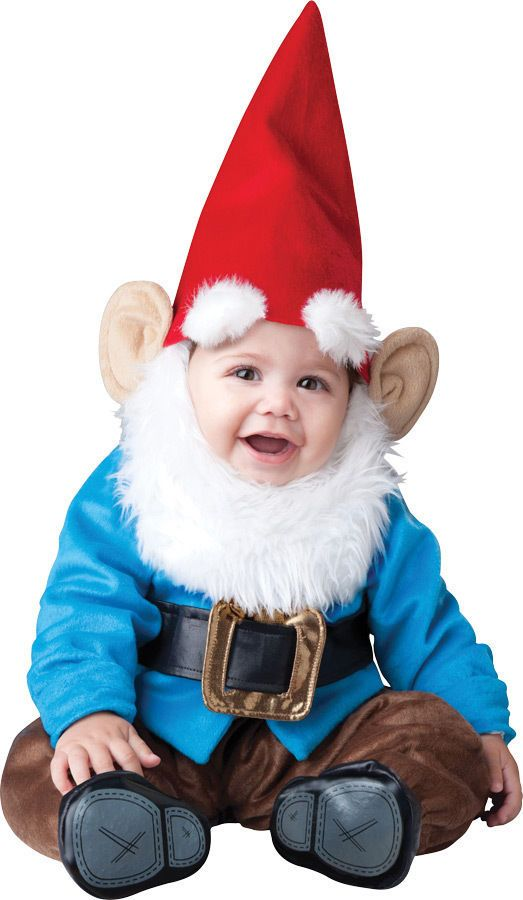 LIL GARDEN GNOME INFANT TODDLER COSTUME Boys Kids Elf Cute Theme Party Halloween