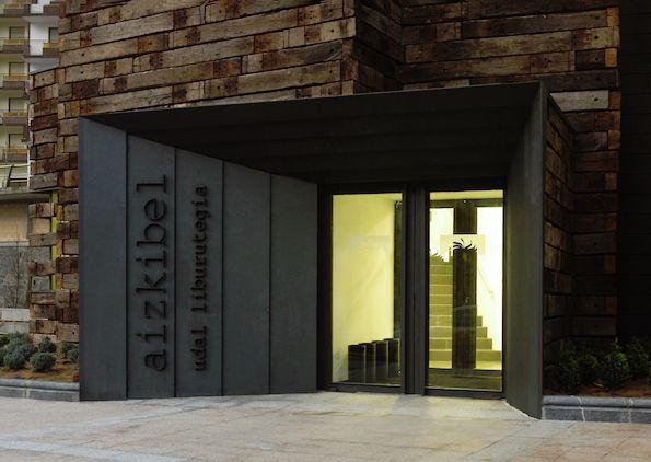 Городская библиотека в Азкоитии (Испания). Estudio Beldarrain
