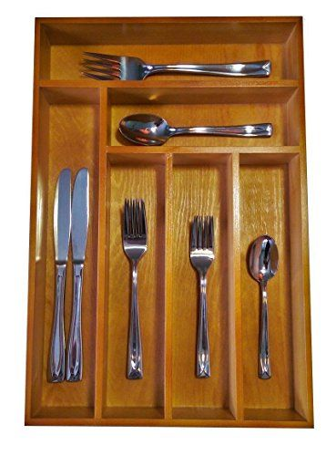 Premium Quality Bamboo Wood Cutlery Tray, Drawer Organizer, Utensils and Kitchen Gadget Tool Storage Tray - (L: 44cm x W: 30 cm x H: 4.5 cm) Bamboo Wood Cutlery Tray http://www.amazon.co.uk/dp/B0125J1H3M/ref=cm_sw_r_pi_dp_C8Tgwb1PZGN09