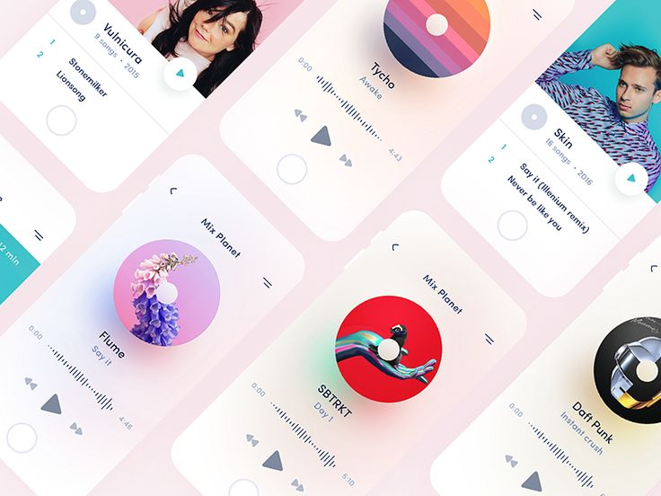 Hi Folks!   Apparently every designer has to make music player. I've never done this before. So here it is! My first music player design.  You can download sketch file here, enjoy!   If you wa...