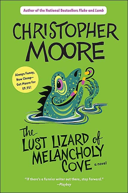 Another book by Christopher Moore that I just love! it involves crooked cops, phony pharmisists, sex with dolphins and a washed up movie actress..... and much much more!