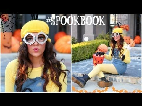 DIY Despicable Me Minion Costume + Makeup! The goggles are so perf. Easy to make too
