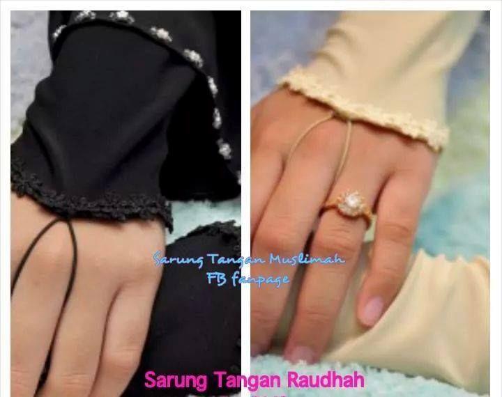 Handsock yang sangat cantik! Handsock Raudhah - Whatsapp 013-3959240