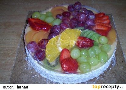 Ovocný dort recept - TopRecepty.cz