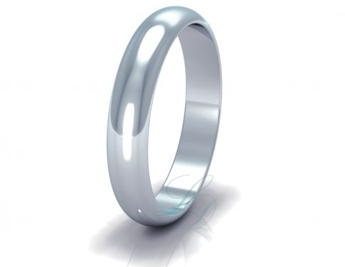 EDWARD - Classic Wedding Ring FOR HIM - LucyDiamonds.cz